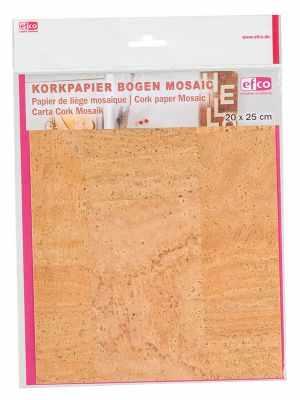 Бумага для декупажа EFCO 3370001 Корковая (пробковая) бумага 20 x 25 см