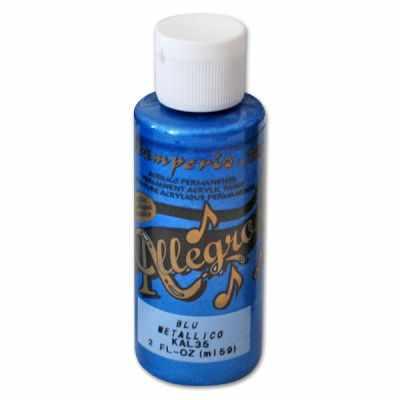 Краски Stamperia KAL35 Акриловая краска Allegro, 59 мл, 3,4хh10 см . пигмент холи лайк фестивальные краски 720 07 синий