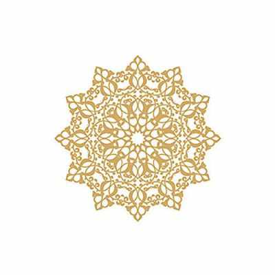 Трансфер для декупажа - Трансфер декоративный (VG-072) золото