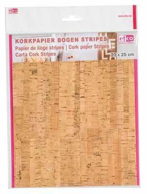 Бумага для декупажа EFCO 3370003 Корковая (пробковая) бумага 20 x 25 см