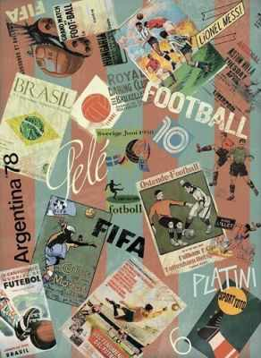 Бумага для декупажа Craft Premier CP05622 Футбольные новости рисовая бумага