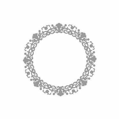 Трансфер для декупажа - Трансфер декоративный (VS-028) серебро