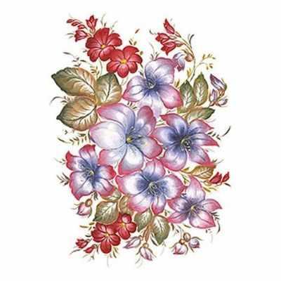 Трансфер для декупажа Cadence Трансфер универсальный Лилии (T-237) трансфер универсальный мелкие цветочки 25 см х 35 см sm 094
