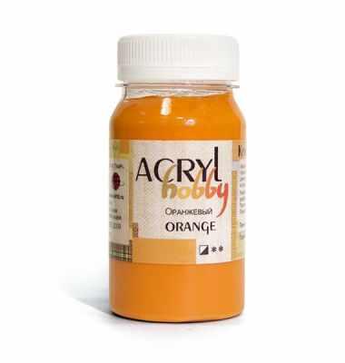 0301021 Оранжевый, Акрил-Хобби, 100 мл