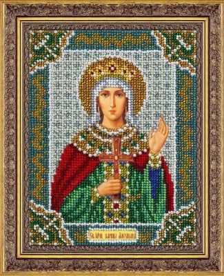 Набор для вышивания иконы Паутинка Б720 Св.муч.царица Александра (Паутинка) набор для вышивания иконы паутинка б720 св муч царица александра паутинка