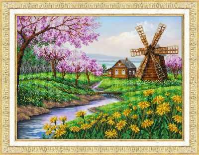 Б1438 В краю весны (Паутинка) - Наборы для вышивания «Паутинка»