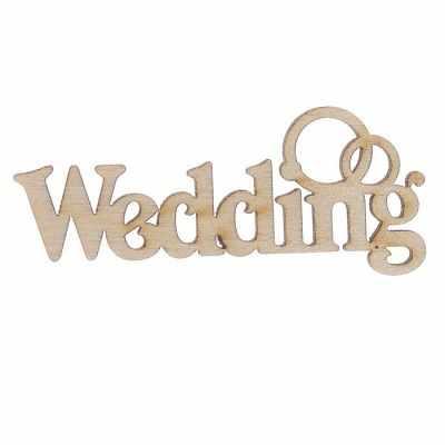 Заготовка для творчества - 2076692 Декоративное слово из фанеры Wedding