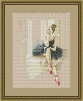 Фото #1: VN-055 Балерина у окна