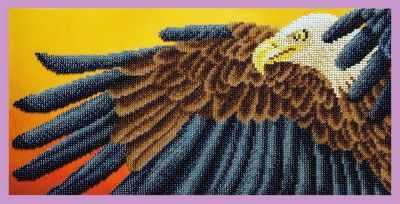 Набор для вышивания Картины бисером Р-332 Орел - набор для вышивания