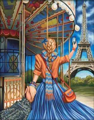 Алмазная мозаика Алмазная живопись Алмазная вышивка Следуй за мной