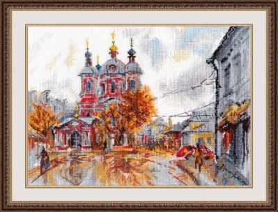 Набор для вышивания Овен 1050 Храм Св. Климента. Москва