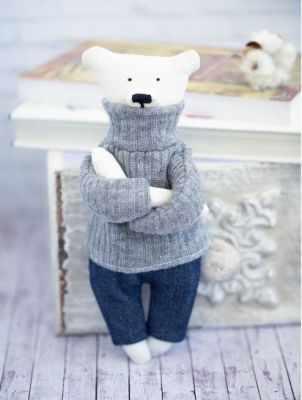Набор для изготовления игрушки Арт Узор 2278767 Набор для шитья «Домашний медведь Кристиан» крем кристиан бретон