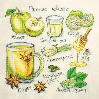 Фото - Набор для вышивания Марья искусница 11.001.13 Пряное яблоко набор для вышивания марья искусница 11 002 25 зима