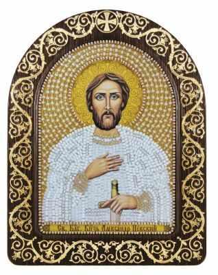 СН 5018 Св. Блгв. Великий Князь Александр Невский - Наборы для вышивания икон «Nova Sloboda»