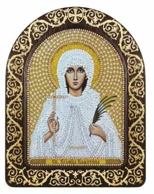 СН 5023 Св. Мц. Валентина Кесарийская - Наборы для вышивания икон «Nova Sloboda»