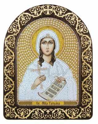 Набор для вышивания иконы Nova Sloboda СН 5024 Св. Мц. Татьяна (Татиана) Римская татиана северинова сестрокото небозмей