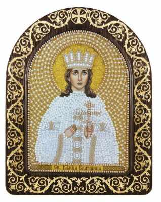 СН 5025 Св. Вмц. Екатерина Александрийская - Наборы для вышивания икон «Nova Sloboda»