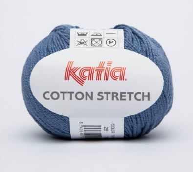 Купить со скидкой Пряжа Katia Cotton Streich Цвет.28