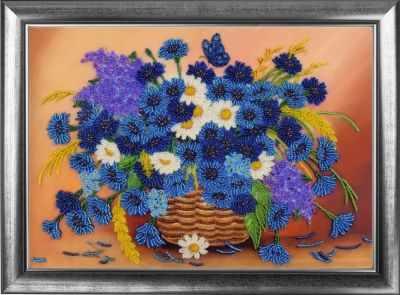 Набор для вышивания Butterfly 152 Корзинка с васильками набор для вышивания butterfly 153 корзинка с мимозой