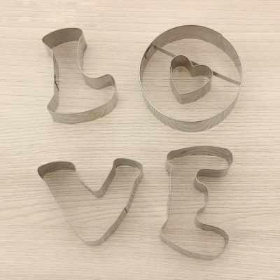 1018100 Набор форм для вырезания печенья Любовь