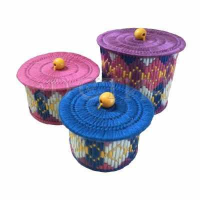 Набор для вышивания 3D-stitch Н006 Набор шкатулочек