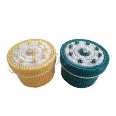 Набор для вышивания 3D-stitch Н015-4 Набор шкатулок