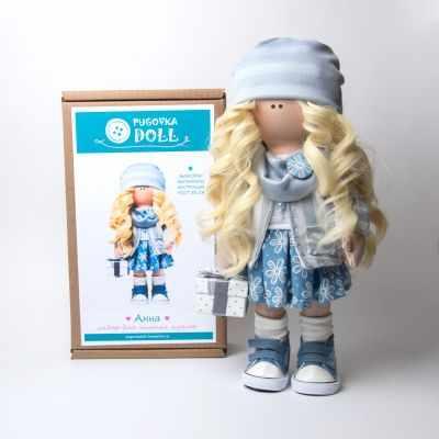 Набор для изготовления игрушки Pugovka Doll Набор Анна