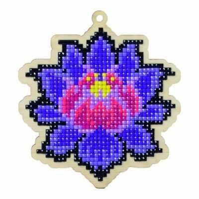 Мозаичная картина Гранни Алмазная вышивка W0139 - Магический лотос - подвеска