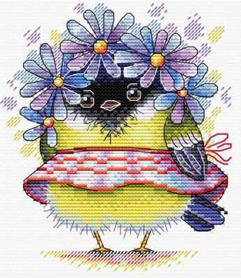 Набор для вышивания МП Студия М-299 Романтичная синичка набор для вышивания мп студия м 238 пять минут до весны
