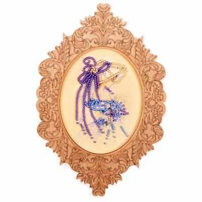Набор для вышивания Волшебная Страна FLG-028 Набор для вышивки с фигурной рамкой
