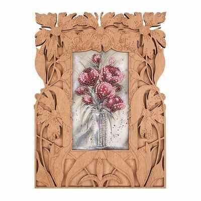 Набор для вышивания Волшебная Страна FLG-036 Набор для вышивки с фигурной рамкой