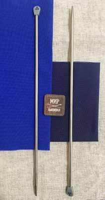 Инструмент для вязания Hobby&Pro 941260 Спицы вязальные d=6.00 мм 35 см