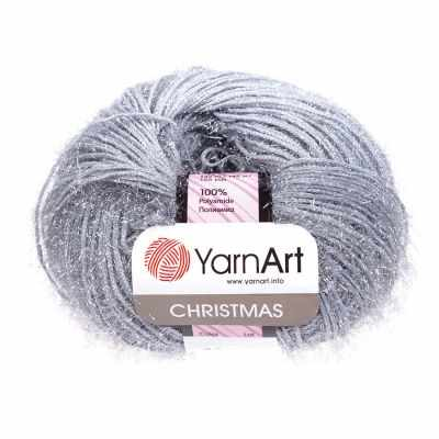 Пряжа YarnArt Пряжа YarnArt Christmas Цвет.044 Серый