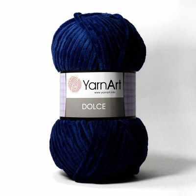 Пряжа YarnArt Пряжа YarnArt Dolce Цвет. 756 Синий