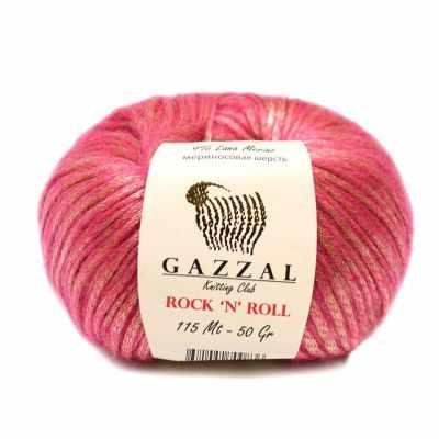 Пряжа GAZZAL Rock n Roll Цвет. 13190 Т.розовый