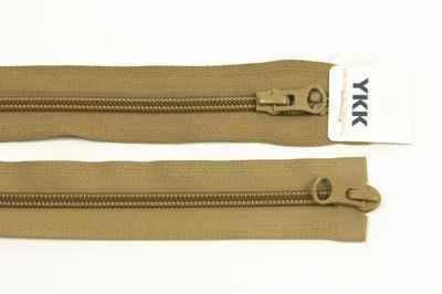 цена на Швейная фурнитура YKK 67045 Молния витая, двухзамковая 60см