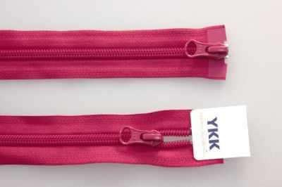 Швейная фурнитура YKK 67045-519 Молния витая, двухзамковая разьемная 65см bonne fee плед накидка для младенцев на молнии 3 80 х 90 см цвет розовый