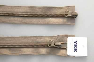 цена на Швейная фурнитура YKK 67045-810 Молния витая, двухзамковая разьемная 65см
