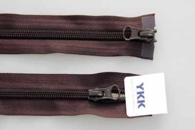 цена на Швейная фурнитура YKK 67045-917 Молния витая, двухзамковая разьемная 65см