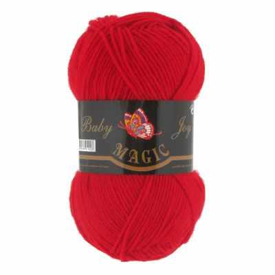 Пряжа Magic Пряжа Magic Baby Joy Цвет.5724 Красный