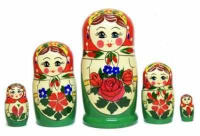 01-023-000 Матрешка Аленка 5 кук. нетр