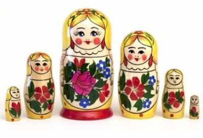 01-022-000 Матрешка Сударушка 6-кук.