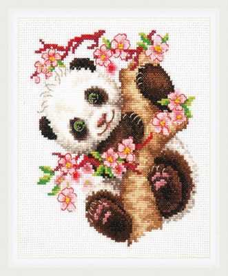 Набор для вышивания Чудесная игла 19-26 Панда