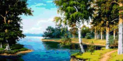 50160 Тропинка вдоль реки
