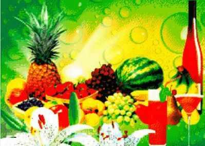 71045-81 Тропические фрукты
