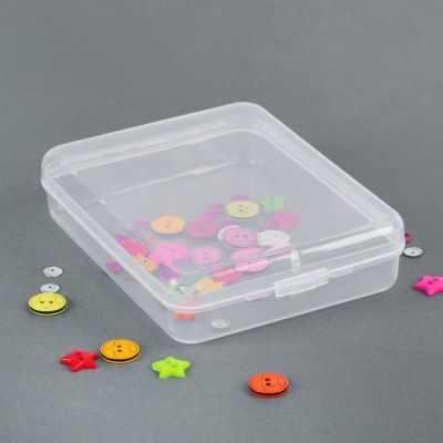 Органайзер - 2610609 Контейнер для хранения мелочей, 11,5*9*2,8см, цвет прозрачный
