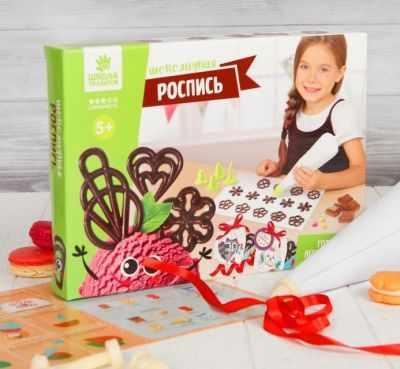 Набор для детского творчества Школа талантов 2910966 Набор для создания шоколада Рисуем узоры набор для творчества школа талантов 1000 шт 1160278