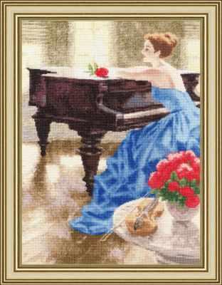 Набор для вышивания Золотое Руно ЧМ-064 Мелодия утра
