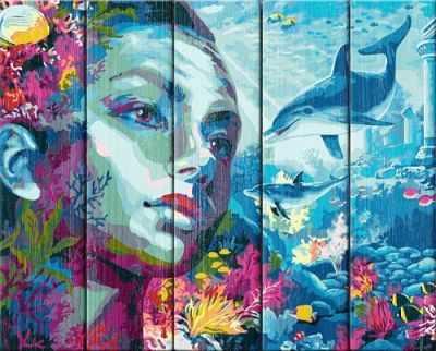 Раскраска по номерам DALI WN014 Атлантида