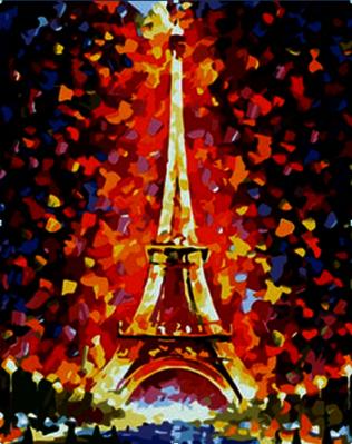 Mg076 эйфелева башня раскраска Menglei купить в улан удэ